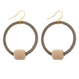 Cosmo Geometric Hoop Earrings