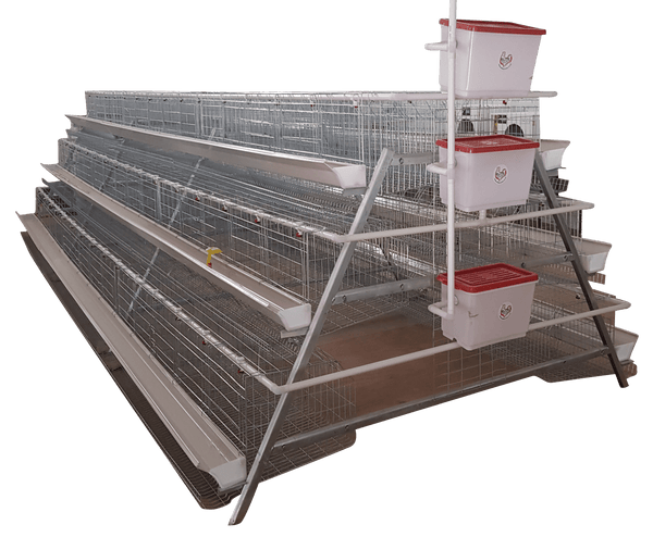 360 Bird Commercial Laying Cage for sale