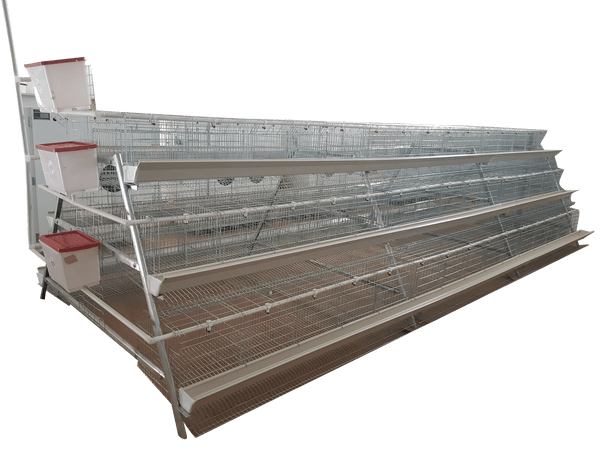 360 Bird Commercial Laying Cage