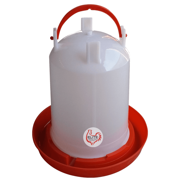 3 Litre Poultry Drinker Water Fount Elite Poultry