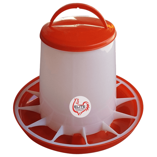 Poultry Tube Feeder 6 kg capacity Elite Poultry