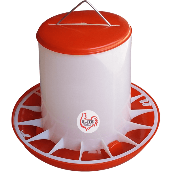 Poultry Tube Feeder 9 kg capacity Elite Poultry Equipment