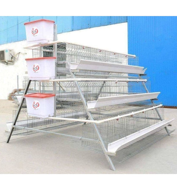 120 bird battery laying cage