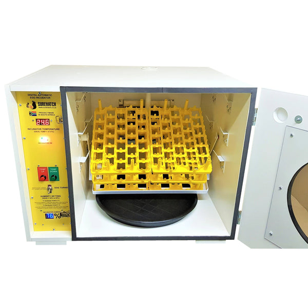 180 Egg Incubator and Hatcher - Fully Automatic Digital Model SH180