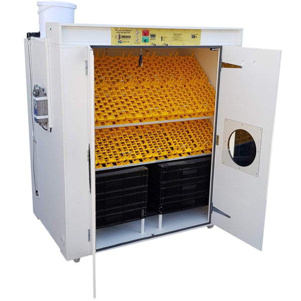 commercial egg incubator and hatcher