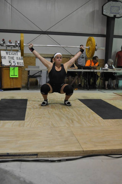 Sunflower State Games Weightlifting Entry