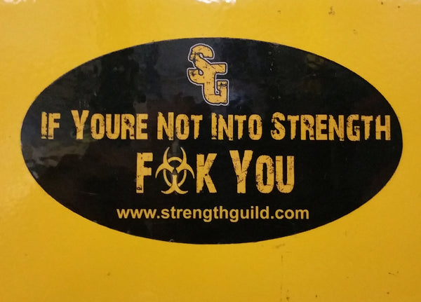 OG STRENGTH GUILD STICKER