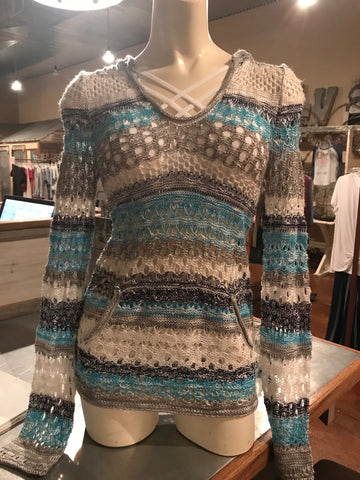 Aqua Light Sweater Small