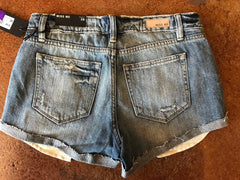 Miss Me Med Blu Cut Off Shorts