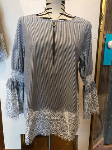 JOH Winslet Lace Detail Top