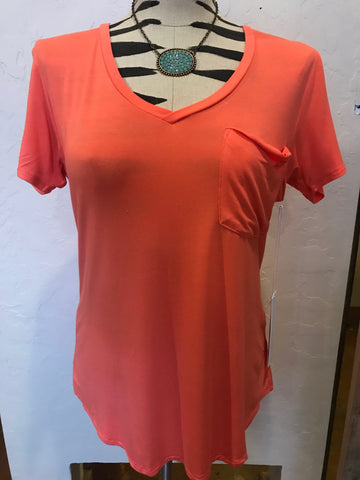 Another Love Coral Phoenix Tee