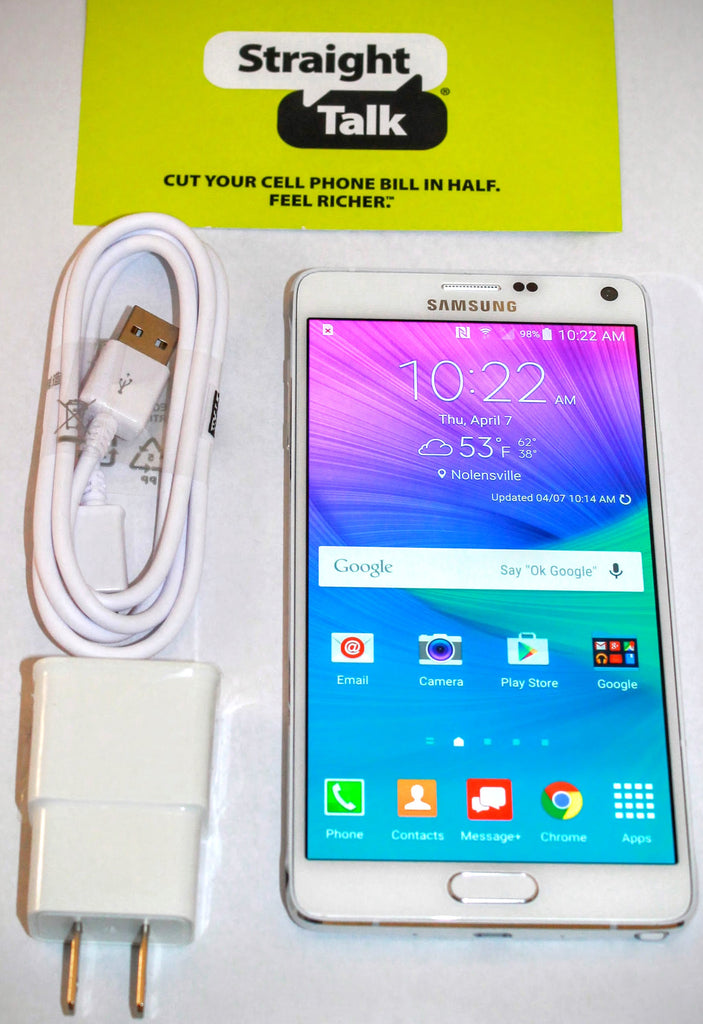 We're Giving Away a Samsung Galaxy Note 4 for Straight Talk Wireless!
