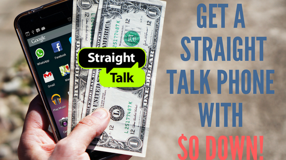 How to get a Straight Talk Phone for $0 Down or buy a Straight Talk  phone with NO credit!