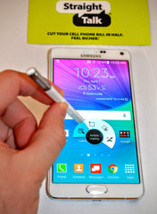 Samsung Galaxy Note 4 for Straight Talk Wireless with Stylus built-in