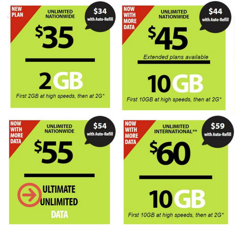 Straight Talk iPhone plans for 2018 with unlimited data