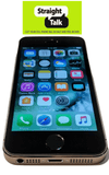 Straight Talk iPhone 5S Space Grey 4G LTE ATT Towers