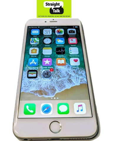 iPhone 6+ Plus for Straight Talk no contract prepaid phone unlimited data plans