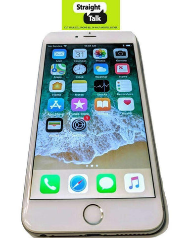 Apple iPhone 6+ Plus for Straight Talk no contract prepaid phone unlimited data plans