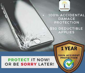 1 Year Accidental Damage Plan~ $50 deductible Applies