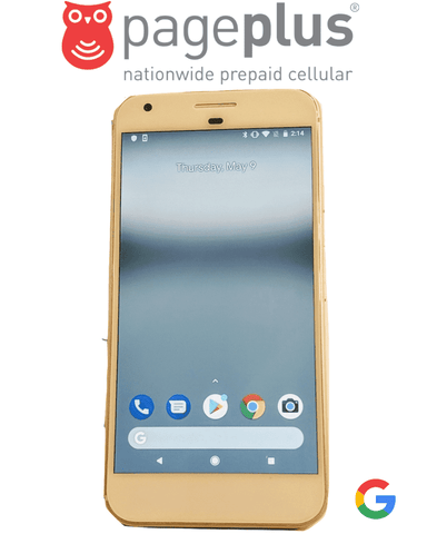 Pageplus Google Pixel XL Phone for Pageplus Unlimited 4g data