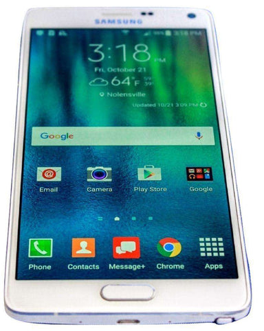 Straight Talk Samsung Galaxy Note 4 Verizon Towers Phone Prepaid No Contract