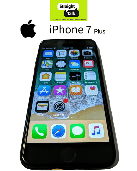 iPhone 7 PLUS 32GB -for Straight Talk 4G LTE (Refurbished) ATT Towers No  Contract