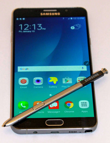 Black Total Wireless Samsung Galaxy Note 5 Unlocked no contract