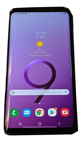 SAMSUNG GALAXY S9+ PLUS (G965U1C) 64GB  Straight Talk (Refurbished) Smartphone