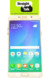 Straight Talk Galaxy Note 5 White no contract prepaid cell phone