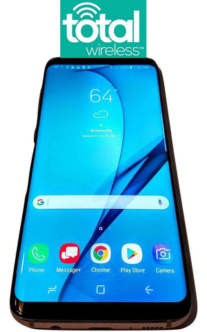 Total Wireless Samsung Galaxy S8 S8+ no contract prepaid Verizon Towers