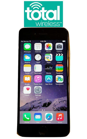 Total Wireless Apple iPhone 6 16GB - Verizon Towers 4G LTE - Refurbished