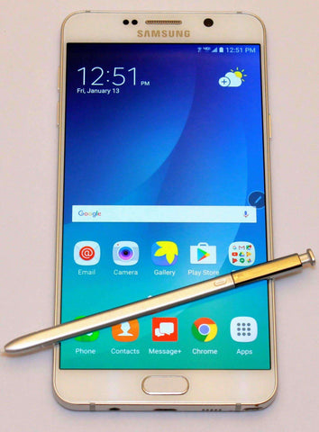 Unlocked Samsung Galaxy Note 5 - No Contract Verizon Prepaid Smartphone  with SIM Refurbished