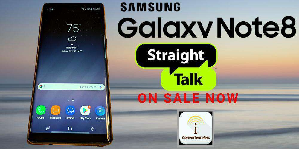 Straight Talk Samsung Galaxy Note8
