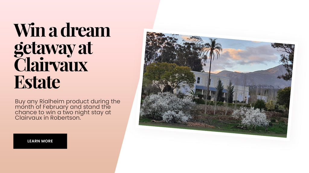 Win a stay at Clairvaux Estate in Robertson