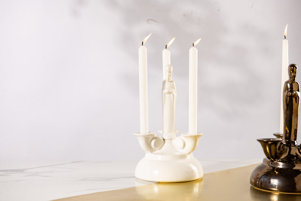 BELIEVE CANDLE HOLDER