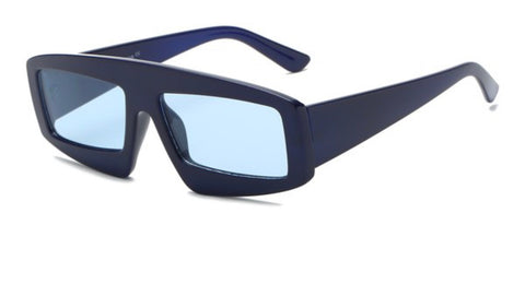 Rectangular Futuristic Sunglasses
