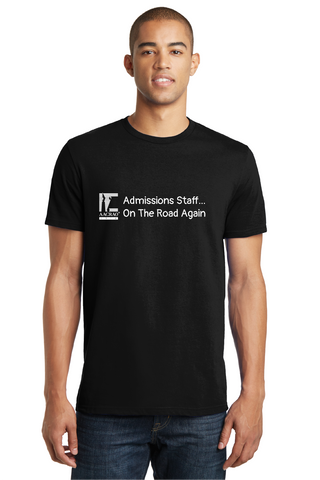 Short Sleeve Admissions Staff on the Road T-Shirt