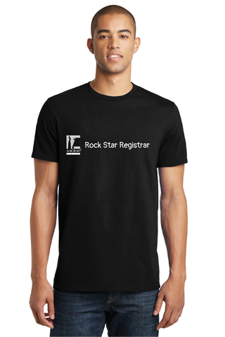 Short Sleeve Rock Star Registrar T-Shirt