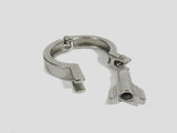 "2"" Single Hinge Sanitary Tri Clover/Tri Clamp SS304 - Emerald Gold"