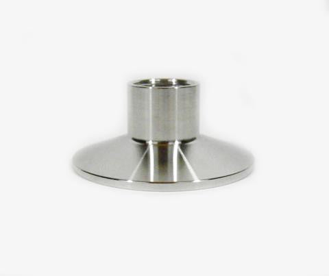 "2"" Tri Clamp/Tri Clover to 1/2"" Female NPT Fitting. Stainless Steel 304 - Emerald Gold"
