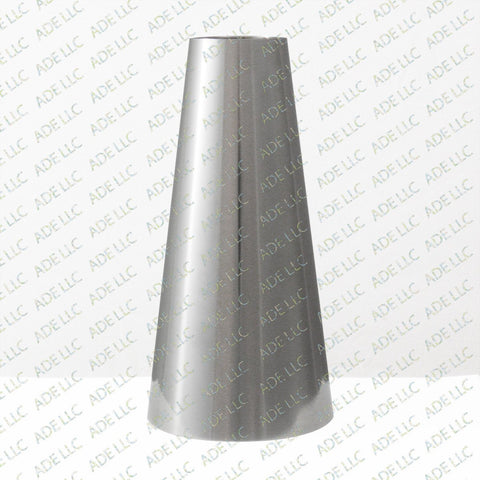 "Weld Concentric 3"" x 1.5"" Reducer, stainless steel 304"