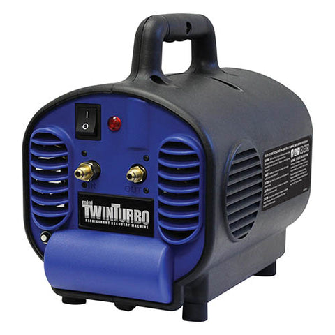 Mini Twin Turbo Combustible Gas Recovery Machine for Butane, Propane, and BHO Extraction, etc.