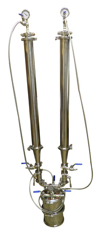 Dual Column 4 lb Closed Loop Hydrocarbon Extractor