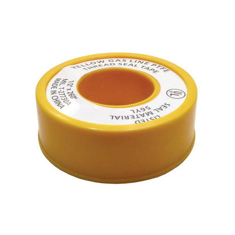 Yellow PTFE Tape - Emerald Gold