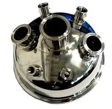 "8"" Tri Clamp Welded Hemispherical Lid"