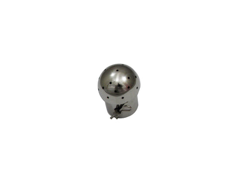"Pin Style CIP Spray Ball with 1"" Tube and 2"" Ball"