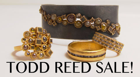 d3436a7f38f995 Our Portland location has taken all of our Todd Reed jewelry and put it on  sale! Come in and see our selection of his raw diamond work.