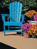 Blue Chair and Mums