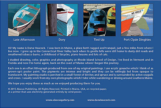Dories and Dinghies Boxed Cards