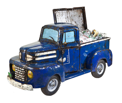 Blue Pick Up Cooler